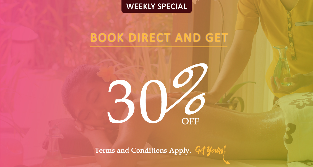 Book Direct 40% Off!