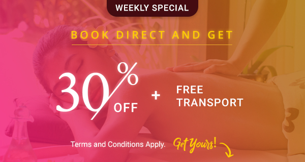 Book Direct – 30% OFF