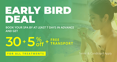 Early Bird 30% OFF + 5% OFF